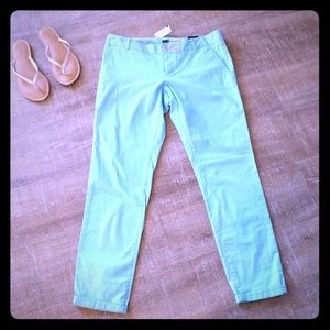 Aqua ankle pants from The Limited, NWT